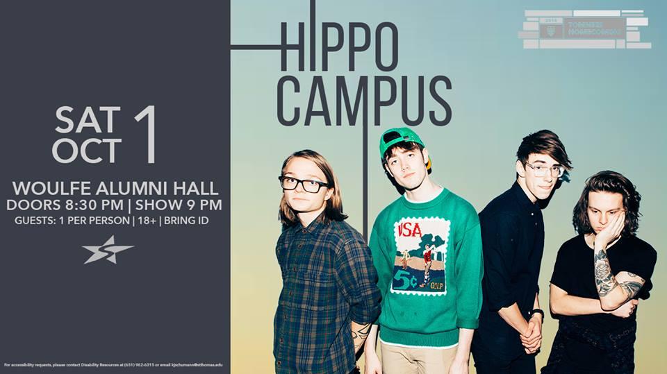 Hippo Campus – University of St. Thomas 10/01